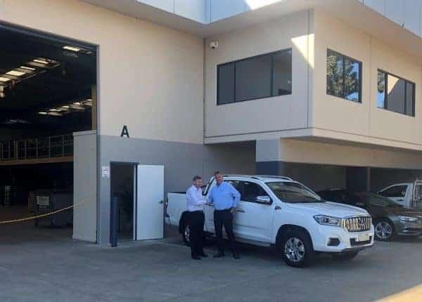 Tom & Richard - New Sydney Office