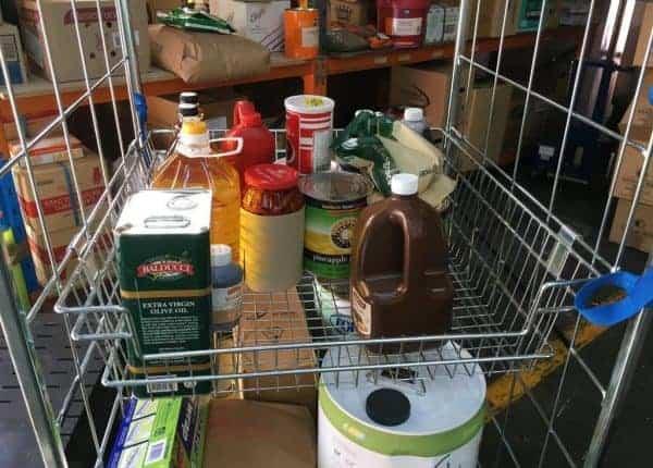 Basket Shelf Trolley Warehouse