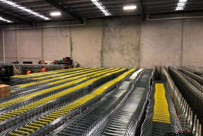 2000 Dairy Trolleys on Rental for Christmas Period